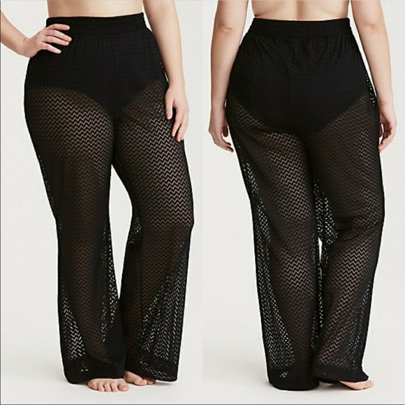 0206d58b4e torrid Swim | Last Last Last Crochet Cover Up Pants | Poshmark